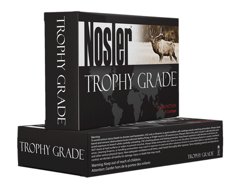 Nosler 48643 Trophy 300 Weatherby Mag 180GR AccuBond 20Bx/10Cs Brass