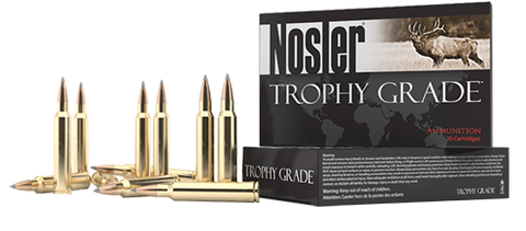Nosler 60104 Trophy Grade Long Range 7mm Shooting Times Westerner 175 GR AccuBond Long Range 20 Bx/ 10 Cs