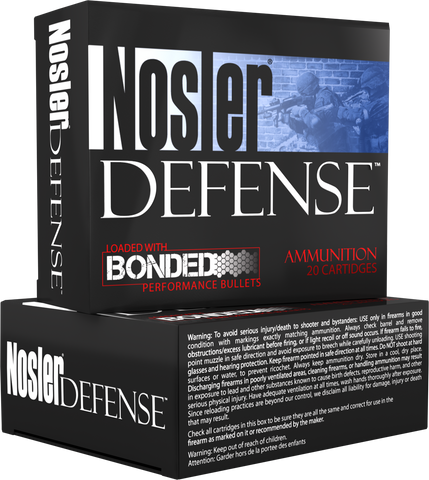 Nosler 37151 Performance Bonded 9mm+P Bonded Tipped 124 GR 20Box/10Case