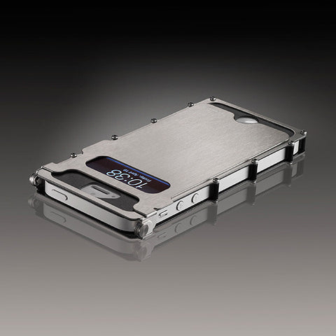 CRKT iNoxCase for iPhone 5 Silver