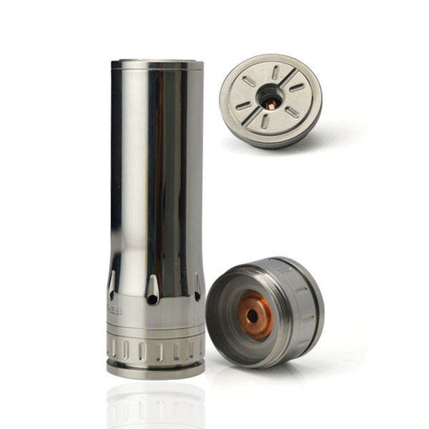 Hcigar HADES 26650 Style MOD Stainless Steel
