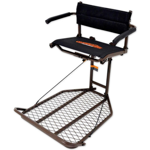 Copper Ridge Deluxe Ultra Comfort Hang on Stand w/ Flip-Up Mesh Seat
