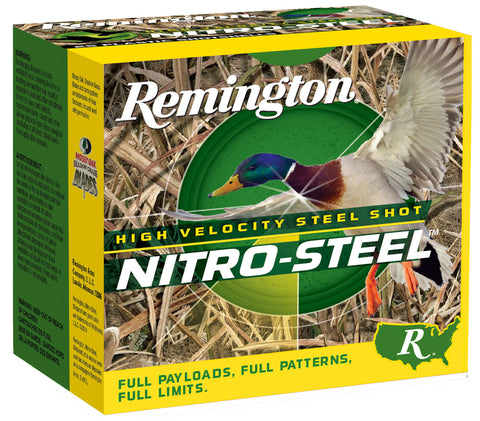 "Remington Ammunition NSI10M2 Nitro Steel  10 Gauge 3.50"" 1 1/2 oz 2 Shot 25 Bx/ 10 Cs"