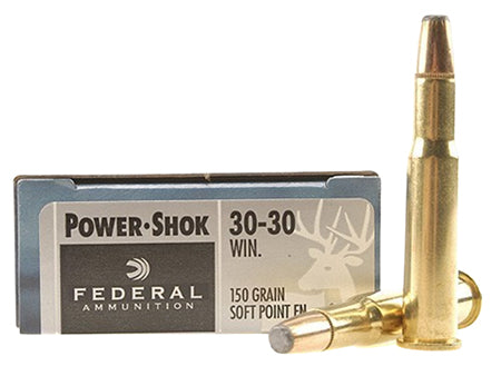 Federal P3030TC1 Vital-Shok 30-30 Winchester 150 GR Trophy Copper 20 Bx/ 10 Cs
