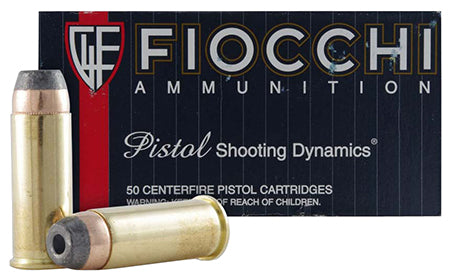 Fiocchi 44SA500 Shooting Dynamics 44 Special 200 GR Semi-Jacketed Hollow Point 50 Bx/ 10 Cs