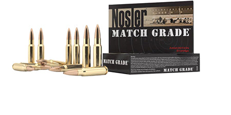 Nosler 51275 Match Grade 300 AAC Blackout 220 GR Custom Competition 20 Bx/ 10 Cs