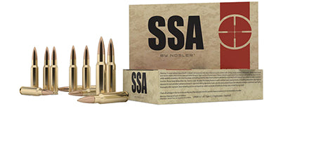 Nosler 75050 SSA 30-06 Springfield 155 GR Hollow Point 20 Bx/ 10 Cs