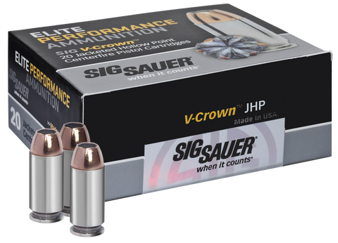 Sig Sauer E44SP1-20 V-Crown 44 Special 200 GR JHP 20Box/10Case