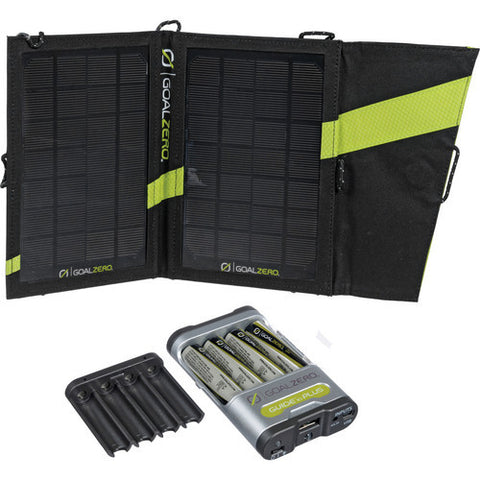 Goal Zero - Guide 10 Plus Solar Recharging Kit with AA Batteries