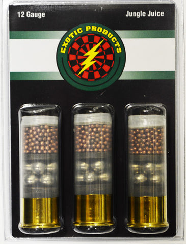 "Exotic Jungle Juice 12 Ga 2 3/4"" Copper 7.5/00 Buck 3-Pack"