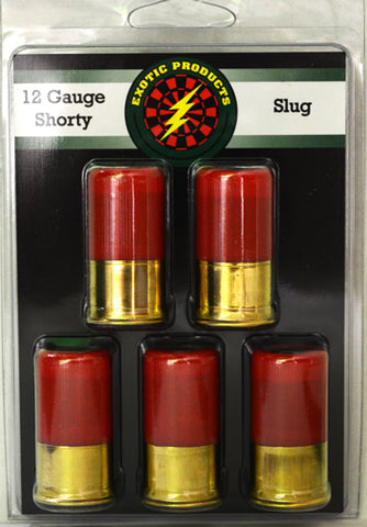 Exotic Shorty Slug 12 Ga 1 3/4 1 oz. Slug 1175fps 5-Pack