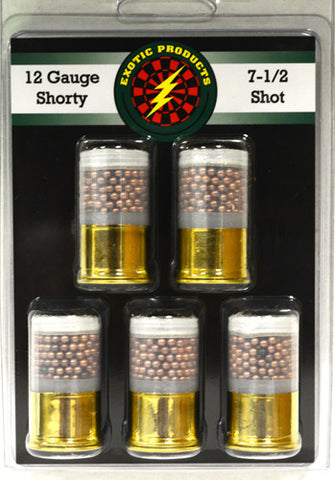 "Exotic Shorty 7.5 Copper Shot 12 Ga 1 3/4"" 1420 fps 5-Pack"
