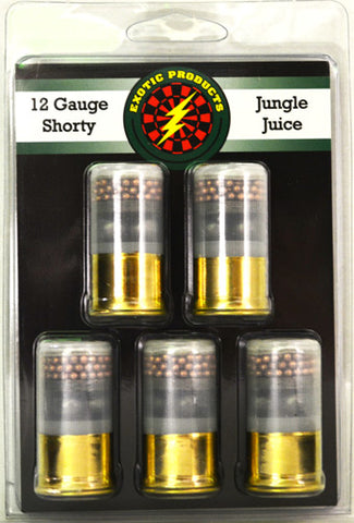 "Exotic Shorty Jungle Juice 12G 1 3/4"" 3-00Bk/7.5 1215 fps 5Pack"