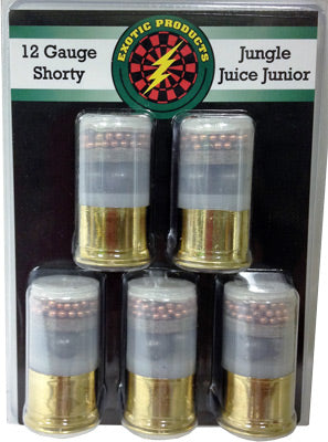 "Exotic Shorty Jungle Juice Jr. 1 3/4"" 14-000Bk/7.5 1225Fs 5Pack"
