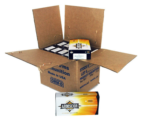 Armscor Ammo .300Aac (Case) Blackout 147gr. FMJ 200Rd Case
