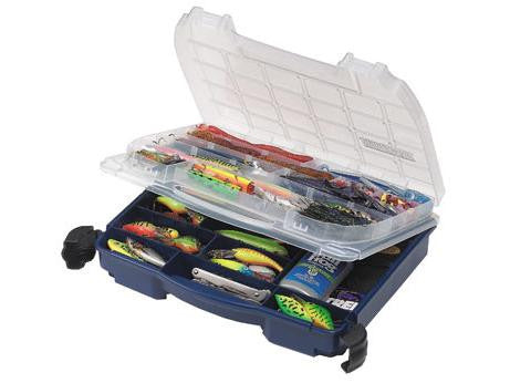 Plano 2-Sided Doulbe-Cover Blue Tackle Box 3952-10