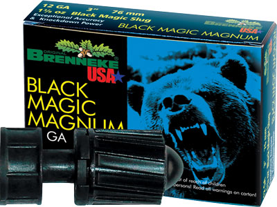 "Brenneke Usa 12Ga 3"" Black Magic 1.375oz. Slug 5Pack."