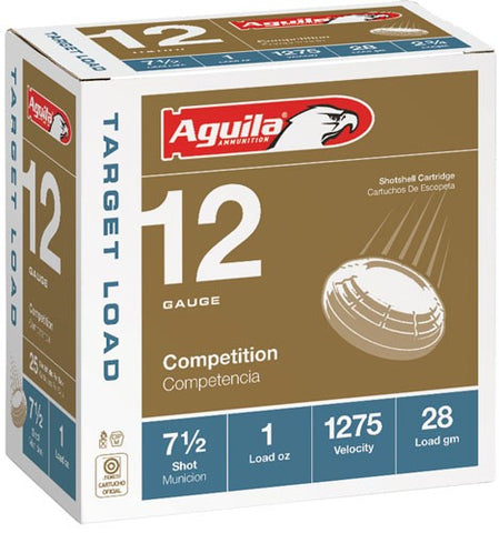 Aguila Shotshell 12Ga. 1Oz. 7.5 25-Pack 1275Fps 1Chb1337