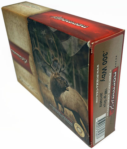 Norma Ammo .300 Weatherby Mag 165Gr. Oryx 20-Pack 20174632