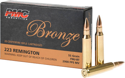 Pmc Ammo .223 Remington 55gr. Bt FMJ 20-Pack