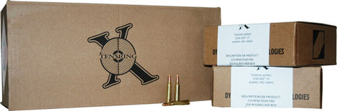 Ten X Ring Ammo .223 Remington 55gr. FMJ 1000Rd Bulk-Packed