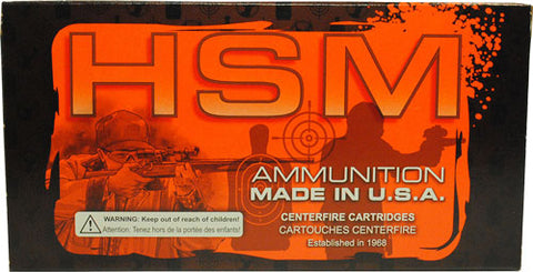 HSM Ammo .300Aac Blackout 110gr. Hornady V-Max 20-Pack
