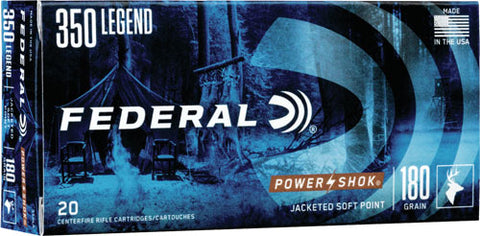 Fed Ammo Power-Shok .350 Legend 180Gr. Sp 20-Pack 350La