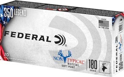 Fed Ammo Non-Typical .350 Legend 180Gr. Sp 20-Pack 350Ldt1