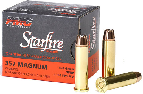 Pmc Ammo .357 Rem. Mag. 150gr. Starfire Hollow Point 20-Pack !