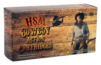 HSM Cowboy Ammo .38-55 Win. 240gr. RNFP-Hard 20-Pack