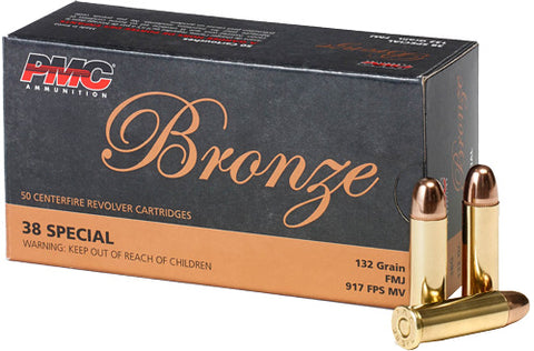Pmc Ammo .38 Super +P 130gr. FMJ-RN50-Pack
