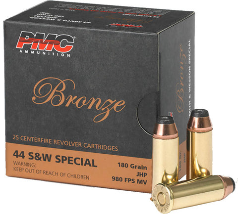 Pmc Ammo .44 S&W Special 180gr. JHP 25-Pack