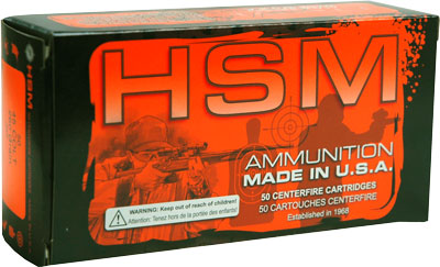 HSM Ammo .45 Long Colt 260gr. JHP 50-Pack