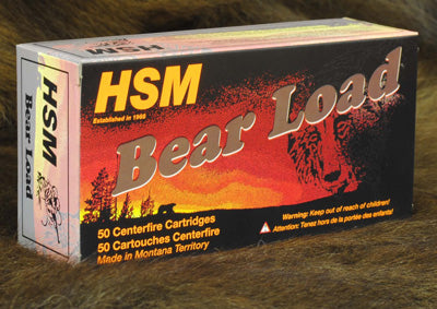 HSM Bear Ammo .500 S&W 440Gr Lbt-Wfn Gas Check 20-Pack