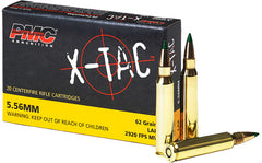 Pmc Ammo 5.56K .223 Remington 62gr. Lap 20-Pack