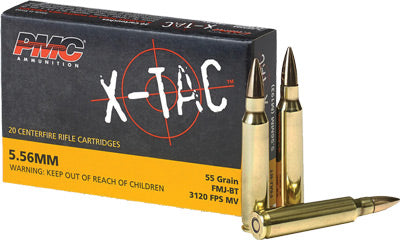 Pmc Ammo 5.56X .223 Remington 55gr. FMJ Bt 20-Pack