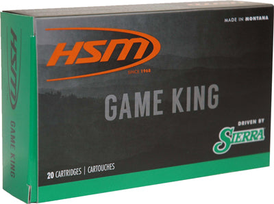 HSM Ammo 6.5 Creedmoor 140gr. SBT Sierra Game King 20-Pack