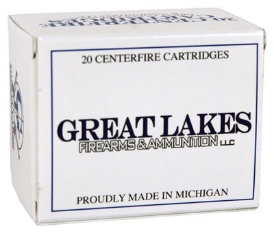 Great Lakes Ammo .500S&W Mag 330gr. Lead-RNFP Poly 20-Pack
