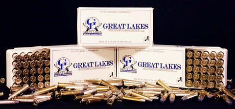 Great Lakes .357 Magnum 125gr. Tcfp Plated 50-Pack