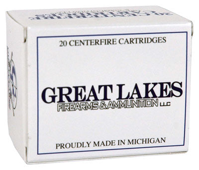 Great Lakes .454 Casull 300gr. Lead-RNFP Poly 20-Pack