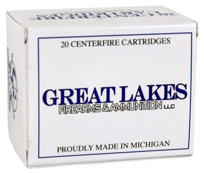Great Lakes 10mm Auto 155gr. Hornady XTP 20-Pack