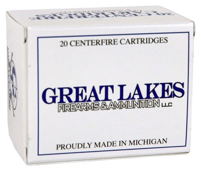 Great Lakes Ammo .50 Beowulf 330gr. RNPoly 20-Pack