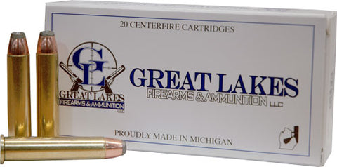 Great Lakes Ammo .45-70 Govt 300gr. JHP 20-Pack