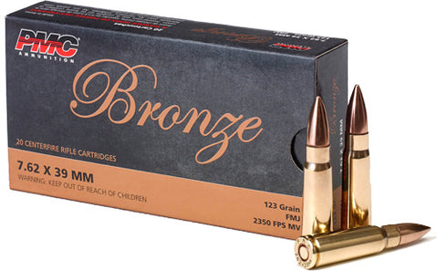 Pmc Ammo 7.62X39 123gr. FMJ 20-Pack
