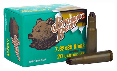 Brown Bear Blank 7.62X39 500-Pack Case