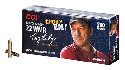 CCI Ammo Swamp People .22Wmr 40gr. Jacket Hollow Pt 200-Pack