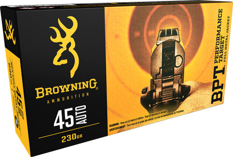 Browning Ammo Target .45ACP 230gr. Bpt-FMJ 50-Pack