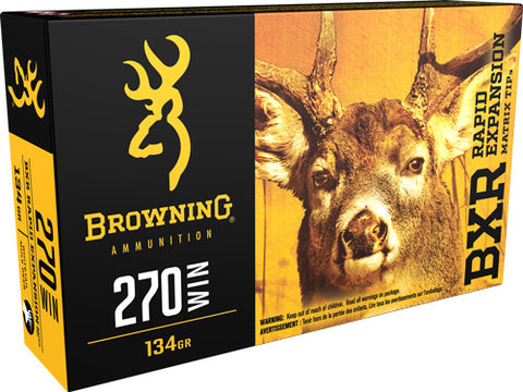 Browning Ammo Bxr .270 Win. 134gr. Bxr 20-Pack