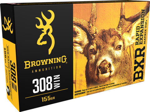 Browning Ammo Bxr .308 Win. 150gr. Bxr 20-Pack