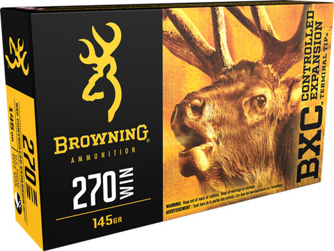 Browning Ammo Bxc .270 Win. 145gr. Bxc 20-Pack